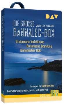 Jean-Luc Bannalec: Die große Bannalec-Box. Hörbücher auf USB-Stick, Diverse
