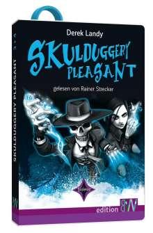 Derek Landy: Skulduggery Pleasant - Folge 3 und 4, Diverse