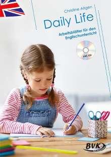 Christine Altgen: Daily Life - Arbeitsblätter für den Englischunterricht (inkl. Audio), Buch