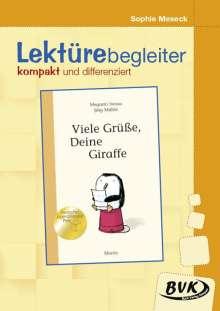 Megumi Iwasa: Viele Grüße, Deine Giraffe- Lektürebegleiter - kompakt und differenziert, Buch