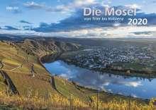 Die Mosel von Trier bis Koblenz 2020 Wandkalender A3, Diverse