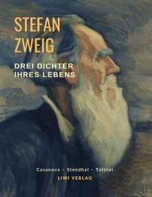 Stefan Zweig: Drei Dichter ihres Lebens, Buch