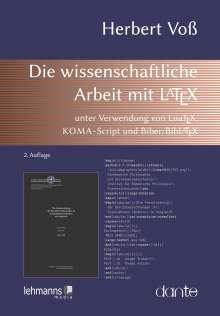 Herbert Voß: Die wissenschaftliche Arbeit mit LaTeX, Buch