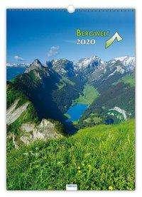 Bergwelt 2020 Großbildkalender, Diverse
