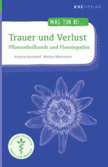 Annette Kerckhoff: Trauer und Verlust, Buch