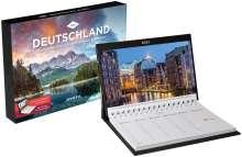 Deutschland Tischkalender 2021, Kalender