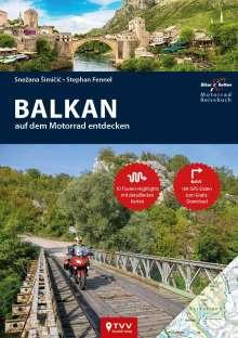 Stephan Fennel: Motorrad Reiseführer Balkan, Buch