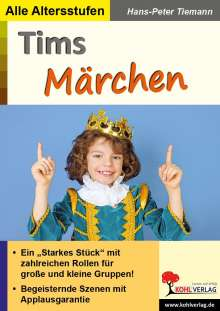 Hans-Peter Tiemann: Tims Märchen, Buch