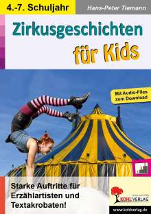 Hans-Peter Tiemann: Zirkusgeschichten für Kids, Buch