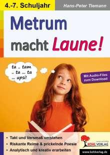 Hans-Peter Tiemann: Metrum macht Laune!, Buch