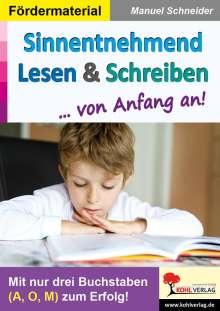 Manuel Schneider: Sinnentnehmend Lesen & Schreiben ... von Anfang an!, Buch