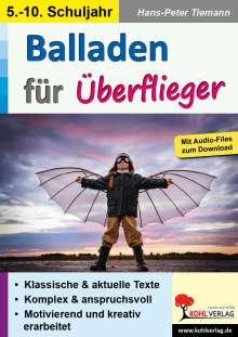 Hans-Peter Tiemann: Balladen für Überflieger, Buch