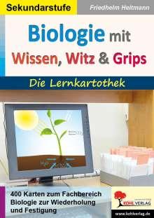 Friedhelm Heitmann: Biologie mit Wissen, Witz & Grips, Buch