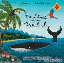Axel Scheffler: Die Schnecke und der Buckelwal, CD