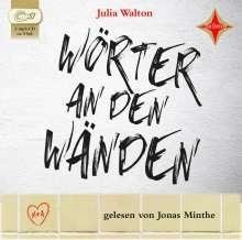 Julia Walton: Wörter an den Wänden, CD