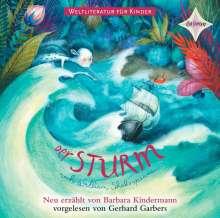 Barbara Kindermann: Weltliteratur für Kinder: Der Sturm von William Shakespeare, CD
