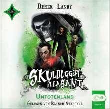 Derek Landy: Skulduggery Pleasant 13 - Untotenland, 2 CDs