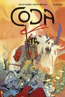 Simon Spurrier: Coda 1, Buch