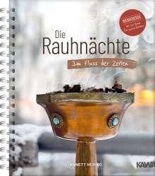 Annett Hering: Die Rauhnächte - Im Fluss der Zeiten: Ein Workbook für die 12 heiligen Nächte mit viel Raum für eigene Notizen, Buch