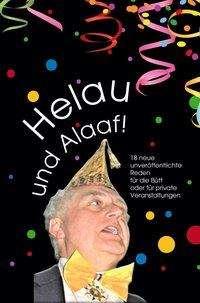 Erich Lauter: Helau und Alaaf!, Buch