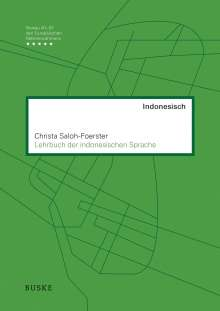Christa Saloh-Foerster: Lehrbuch der indonesischen Sprache, Buch