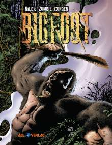Richard Corben: Bigfoot, Buch