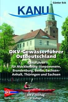 Günter Eck: DKV-Gewässerführer für Ostdeutschland, Buch
