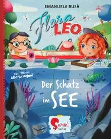 Emanuela Busà: Flora & Leo und der Schatz im See, Buch