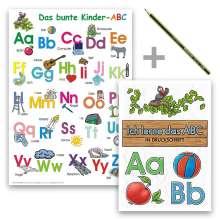 Helga Momm: Das bunte Kinder-ABC - Set in Druckschrift, Buch