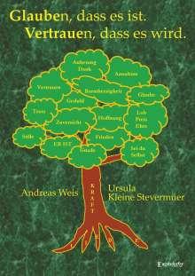 Andreas Weis: Glauben, dass es ist. Vertrauen, dass es wird., Buch