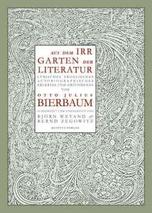 Otto Julius Bierbaum: Aus dem Irrgarten der Literatur, Buch