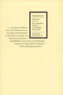 Elisabeth Emter: Paul Gurk (1880-1953), Buch