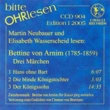 Bitte OHRlesen - Edition I 2005:Bettine von Arnim, CD