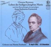 Bitte OHRlesen - Clemens Brentano, 4 MP3-CDs