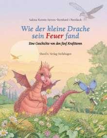 Sakina Kerstin Sievers: Wie der kleine Drache sein Feuer fand, Buch