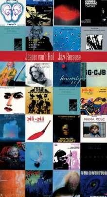 Jasper van't Hof (geb. 1947): Jazz Because (Limited-Edition), 4 CDs