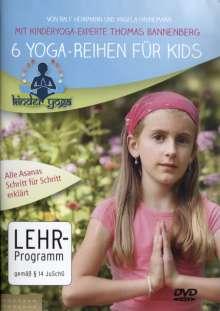 6 Yoga-Reihen für Kids, DVD