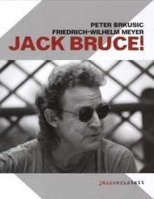 Peter Brkusic: Jack Bruce!, Buch