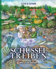 Dirk Luther: Schüsseltreiben, Buch