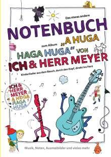 Jens Brix: A HUGA HAGA HUGA Notenbuch, Buch