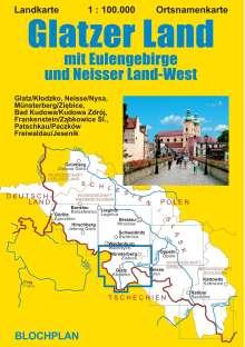 Dirk Bloch: Landkarte Glatzer Land 1:100.000, Diverse