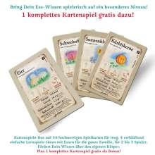 """Stephan C. Daniel: jeu-d'oeuvre Karten Spiele Box. Das Spiel zum Buch: """"Mit Essen Spielt Man"""", Diverse"""