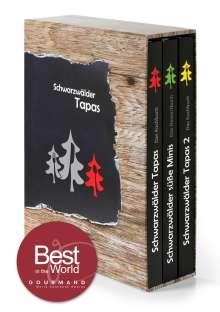 """Manuel Wassmer: Schwarzwälder Tapas Schuberbox - """"Beste Kochbuchserie des Jahres"""" weltweit, Buch"""