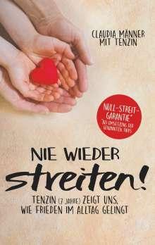 Claudia Männer: Nie wieder streiten!, Buch