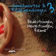 Tobias Schüppen: Sprichwörter und Redewendungen 3, Buch