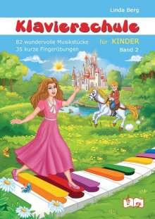 Linda Berg: Klavierschule für Kinder, Band 2, Buch