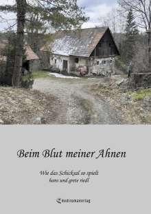Hans Riedl: Beim Blut meiner Ahnen, Buch