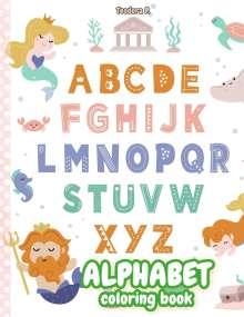 Teodora P.: Alphabet Coloring Book, Buch
