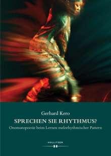 Gerhard Kero: Sprechen Sie Rhythmus?, Buch