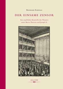 Reinhard Eisendle: Der einsame Zensor, Buch